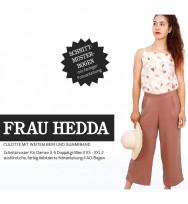 Schnittmuster Frau Hedda