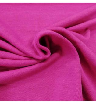 Reststück 25 cm Wolljersey pink
