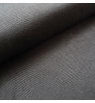 Jacquard Rippenmuster grau-schwarz