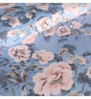 Tencel-Jersey Trootchy Flowers pastell