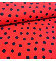 Sommersweat Dots red