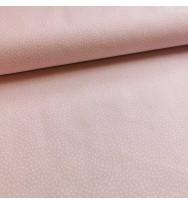 Druckstoff Prinzessin Tupfen rosa/weiß