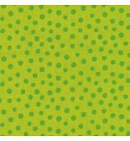 Druckstoff Punkte grün