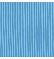 Druckstoff Streifen blau