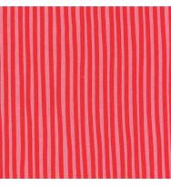 Druckstoff Streifen rosa-rot