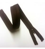 Reißverschluss/Zipp nicht teilbar dunkelbraun