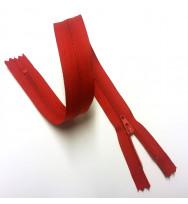 Reißverschluss/Zipp nicht teilbar dunkelrot