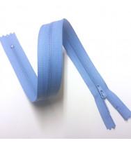 Reißverschluss/Zipp nicht teilbar pastellblau