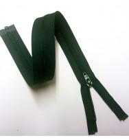 Reißverschluss/Zipp teilbar dunkelgrün