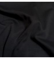 Reststück 26 cm Interlock schwarz