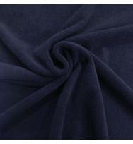 Strickfrottee navy blazer