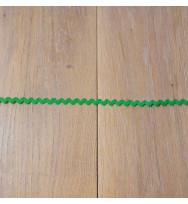 Zackenlitze 8 mm medium green