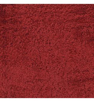 Reststück 36 cm Webfrottee red dahlia