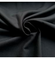 Flanell schwarz