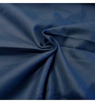 Reststück 41 cm Kreuzköper - Tragetuchstoff dunkelblau