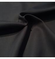 Reststück 23 cm Satin schwarz