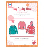 "Schnittmuster Plus-Size-Damenshirt ""Big Lady Rose"""