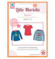 """Schnittmuster Babyshirt """"Little Mariella"""""""