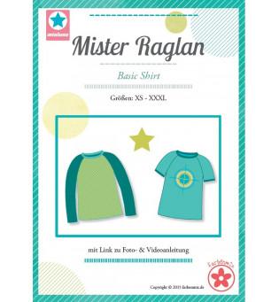 """Schnittmuster Herren-Shirt """"Mister Raglan"""""""