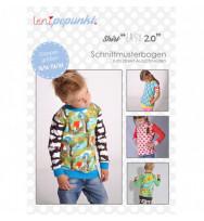 "Schnittmuster Kindershirt ""eaSy 2.0"""