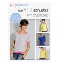 """Schnittmuster Damen-Shirt """"KALTE.Schulter"""""""