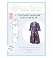 Schnittmuster Damen-Kleid & Shirt Miaflora
