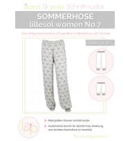 Schnittmuster Women Sommerhose