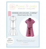 Schnittmuster Kinder-Hemdbluse & Kleid Camisa