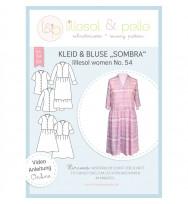 Schnittmuster Damenkleid und -bluse Sombra