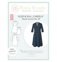 Schnittmuster Damenkleid und -shirt Candela