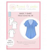 Schnittmuster Damen-Basic T-Shirt