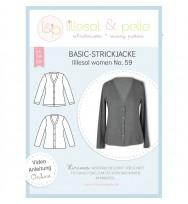 Schnittmuster Damen-Basic-Strickjacke