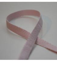 Fischgrätband 6 mm rosa