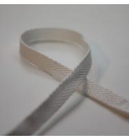 Fischgrätband 6 mm weiß