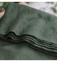 Leaf Jacquard green khaki