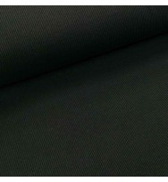 Ripp-Bündchen black