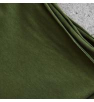 Jersey green khaki