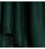 Reststück 45 cm Feiner Leinenjersey bottle green