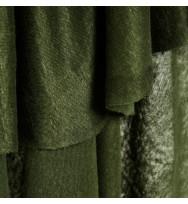 Feiner Leinenjersey green khaki