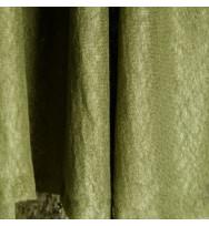 Reststück 46 cm Feiner Leinenjersey olive green