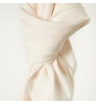 Reststück 36 cm Nisa Soft Leinen creamy white
