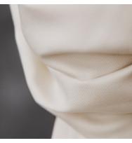 Smooth Drape Tencel-Twill bright white