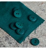 Knopf Curb Cotton 18 mm bottle green