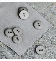 Knopf Curb Cotton 18 mm stone