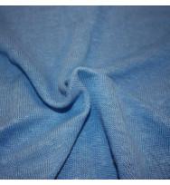 Hanf-Strickjersey blau
