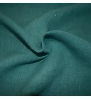 Leichter Hanfwebstoff waldgrün