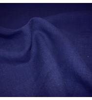 Leichter Hanfwebstoff indigo