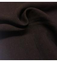 Reststück 39 cm Hanf-Canvas schwarz