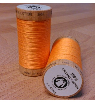 Nähgarn Bio-Baumwolle 100 m - 4804 orange