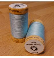 Nähgarn Bio-Baumwolle 100 m - 4814 hellblau